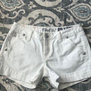 Miss Me Shorts - White - Size 29 Like New